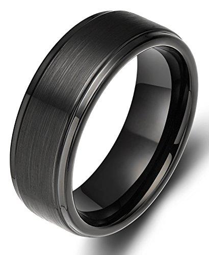 Tungsten Black Finished Comfort Wedding