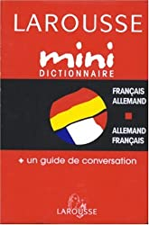 Mini Dictionnaire Français-Allemand / Allemand-Français