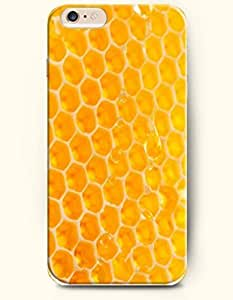 Case For Ipod Touch 5 Cover with Design of Yellow BeehiHoneycomb Pattern -OOFIT Authentic