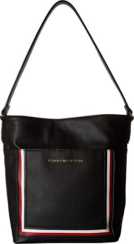 Tommy Hilfiger Women's Carmen Hobo Black One Size