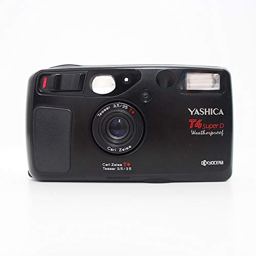 KYOCERA Yashica T4 Super D Carl Zeiss T Tessar 3.5/35 Weatherproof Film Camera ()