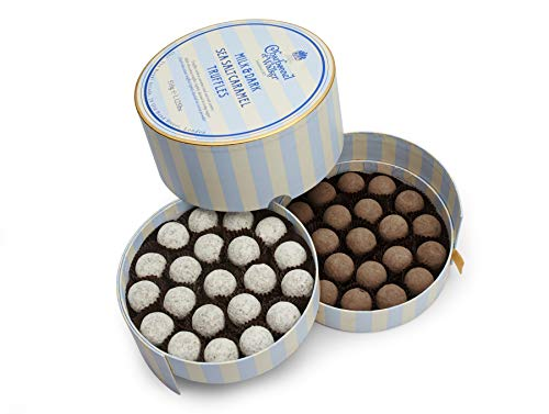 Charbonnel et Walker Milk and Dark Sea Salt Caramel Truffles 510 g