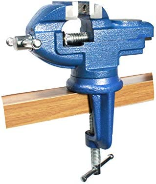 [スポンサー プロダクト]HFS(R) テーブルバイス 万力 360度回転 口幅:50mm 最大開口:50mm ホームバイス 固定用卓上バイス DIY ホビーバイス ベンチバイス