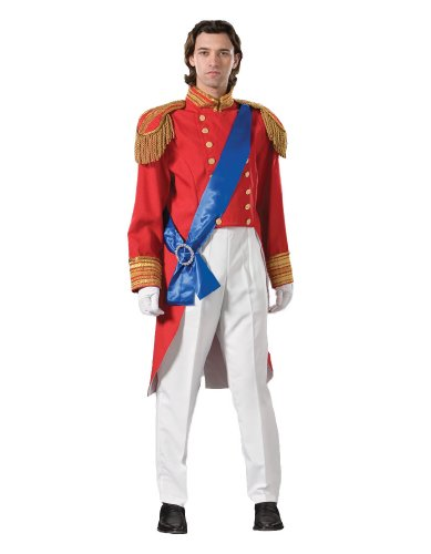 Men's Irish Guard Prince Royal Wedding Costume, Large by Tabi's Characters