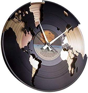 Bob Marley Natural Eco wooden Craft Art WALL CLOCK VINYL Record