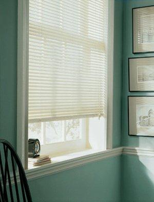 vinyl 1 inch mini blinds white 21x64