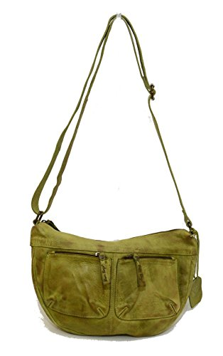Bear Bags, Borsa a spalla donna verde Sulpher