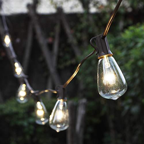 MYHH-LITES Solar String Lights Outdoor, Patio Lights