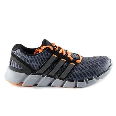 Adidas adipure crazyquick Running Shoes - Grey/Carmet/zest (Mens) - 8
