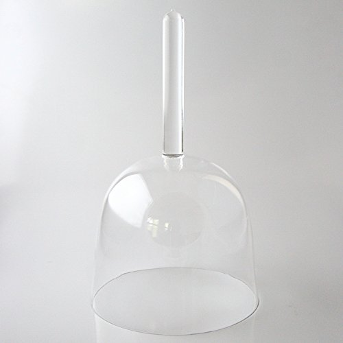 Clear Handled Quartz Crystal Singing Bowl Perfect Note B 4th Octave 5