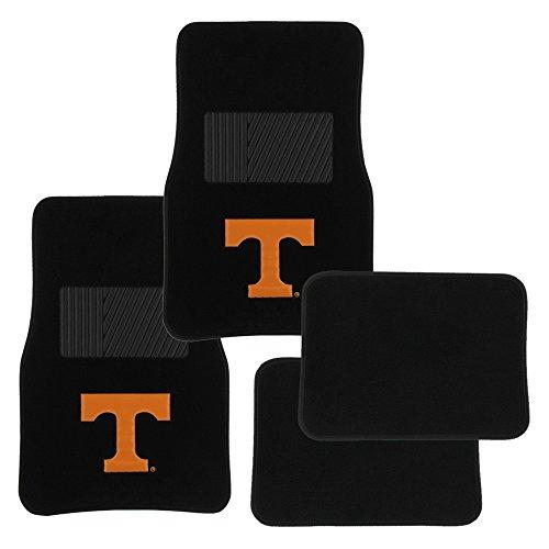 - Pilot Alumni Group FM-903 Universal Fit Four Piece Floor Mat Set (Collegiate Tennessee Volunteers)