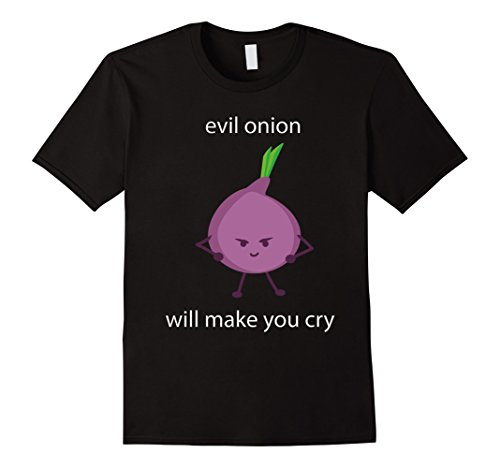 Mens Funny Evil Onion Cry Halloween Costume T Shirt, Gift Tshirt Small (The Onion Halloween Costumes)
