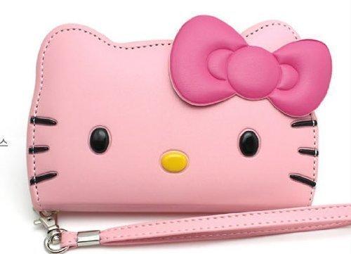 Hello Kitty 3D Wallet Case Apple iPhone 5 5S(AT&T,Verizon...