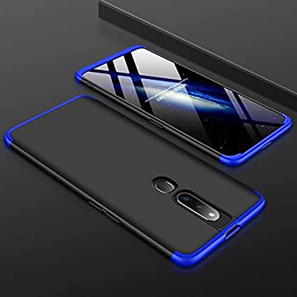 SPAZY CASE® Oppo F11 Pro Cover Case Ull Body 3 in 1 Slim Fit Complete 3D  360 Degree Protection Hybrid Hard Bumper Back Case Cover for Oppo F11 Pro