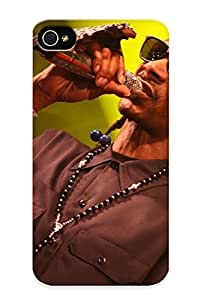 Flyinghouse Fashion Protective Snoopdogg Snoop Dogg Gangsta Hiphop Hip Hop Rap Concert Concerts Microphone Case Cover For Iphone 4/4s