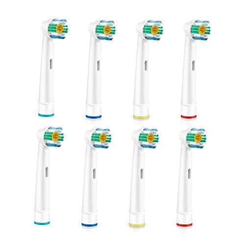 Uni Fam cepillo de dientes cabezales de repuesto para su uso en la mayoría de Oral-B batería asas: Amazon.es: Salud y cuidado personal