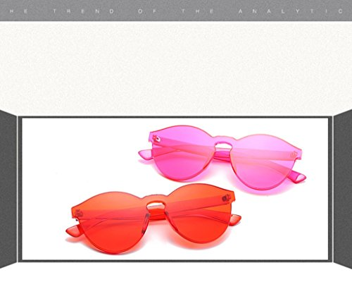 William de Designer Piece plastique Couleur Marque Lunettes Lens soleil Couleur 5 No soleil Effacer 337 Hommes Candy 2 Lunettes No Lunettes Style en Transparent soleil de Lunettes Femmes de One XqS6XUx