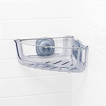 Amazon Com Oxo Good Grips Press Sure Corner Shower Caddy