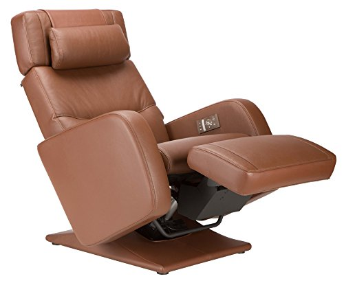 "Perfect Chair ""PC-8500"" Fully Upholstered 100% Leather PRO Zero Gravity Recliner"