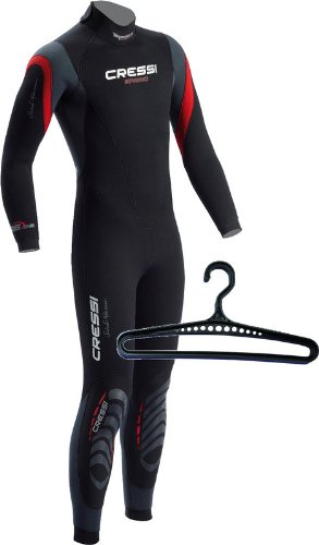 Cressi Spring Men's Wetsuit w/Hanger, LG by Cressi