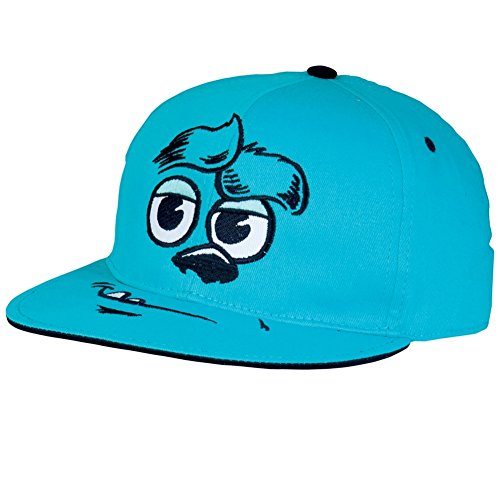 [Monsters University -Sully Big Face Adjustable Cap Blue] (Monsters University Hat)