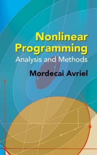 Download Nonlinear Programming: Analysis and Methods (Dover Books on Computer Science) pdf epub