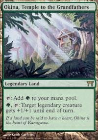 Magic: the Gathering - Okina, Temple to the Grandfathers - Champions of Kamigawa