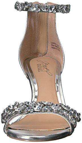 Women's Badgley Mischka Silver Jewel Dress Caroline Sandal EPw0xUSwq