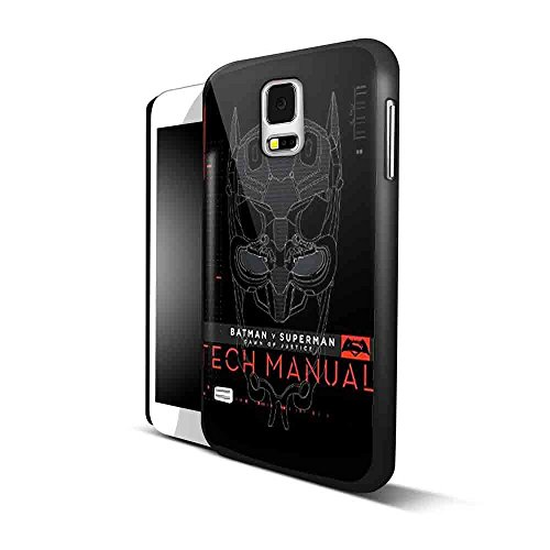 Batman V Superman Dawn Of Justice Tech Manual for Samsung S5 Black case