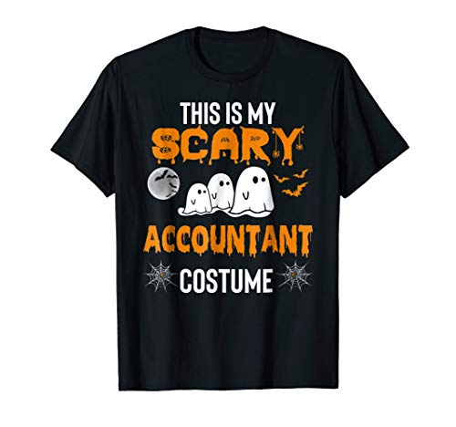 Accountant Halloween Costume Funny Shirt]()
