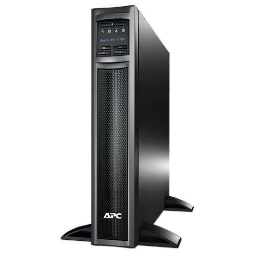 APC Smart-UPS 750VA 600W 120V Rack/Tower LCD Battery Backup Power Supply (SMX750) by APC