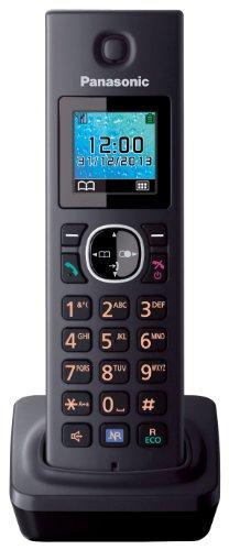 Panasonic KX-TGA785EXB Mobilteil für KX-TG78xx Serie inkl. Ladeschale schwarz
