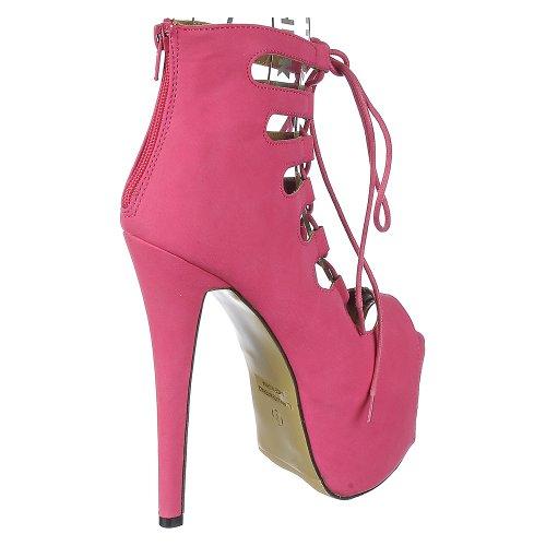 Pink Glaze Hot Boot Nelly Nelly Glaze 63 63 Boot OxFwP8