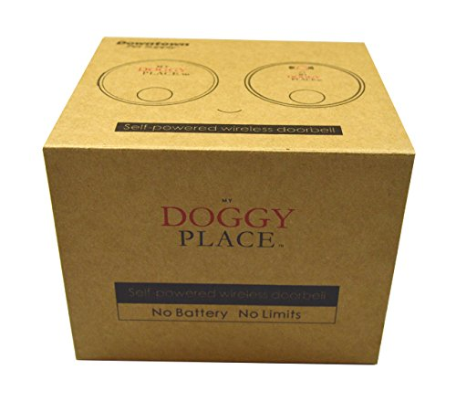 My Doggy Place - Dog Pet Children Toddler, Wireless Doorbell, No Batteries Required, Electronic Chime Bell, Potty Training, for Small, Medium, Large Dogs (One Transmitter - One Receiver) by My Doggy Place (Image #5)