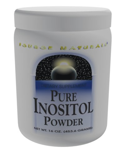 Source Naturals pur Inositol poudre, 16 onces