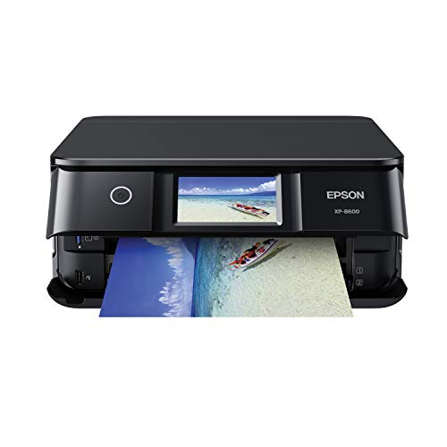 Epson Expression Photo XP-8600 Wireless Color Photo Printer with Scanner and Copier