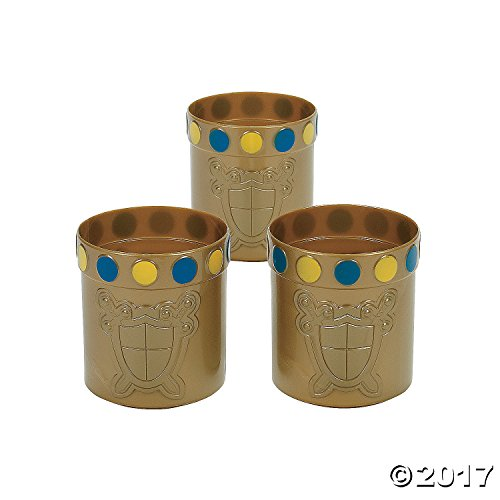 Knight Party Mugs - Royal Theme (1 dz) by Fun Express ()