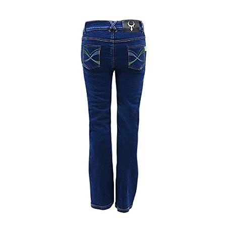 bull-it Damen Bondi SR6Motorrad Jeans Hose blau Xlong 35//W10