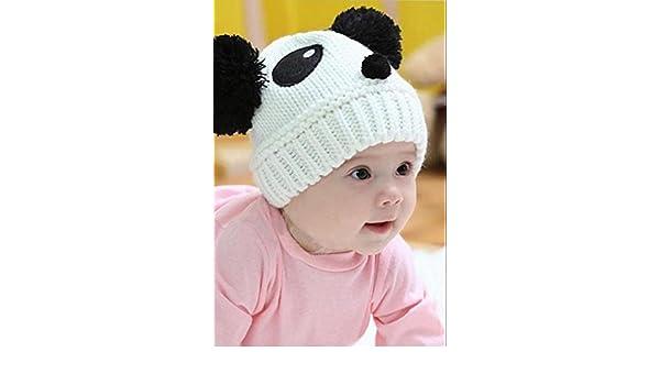 c03536f3da5 Sell now Cute Baby Girl Boy Toddler Winter Warm Knit Crochet Panda Hat Cap  Beanie  Baby