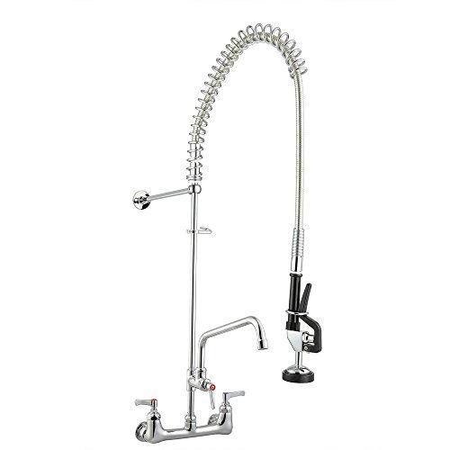 Aquaterior Backsplash Pre Rinse Commercial Chromed product image