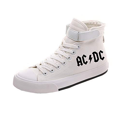 Ayuda Zapatos White13 De Lazada Lona Transpirables Ocasionales Acdc Alta Popular Pareja v0AqT0xdw
