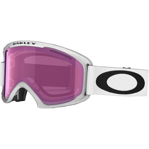 Oakley 59-364 02 XL Snow Goggle, Matte White with Violet Iridium - Goggle Oakley Lens