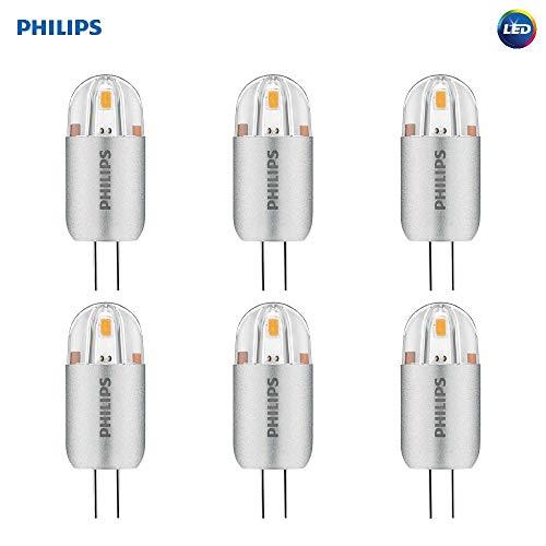Philips 477166 LED Light Bulb, White, 6 Piece