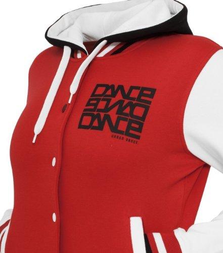 Urban Dance - Brenshaw Dance College Jacke - Rot Weiss Schwarz