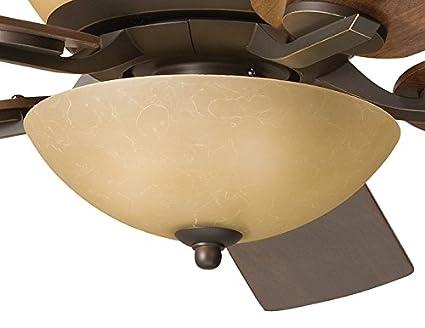Kichler 380000oz bowl light fixture kit olde bronze