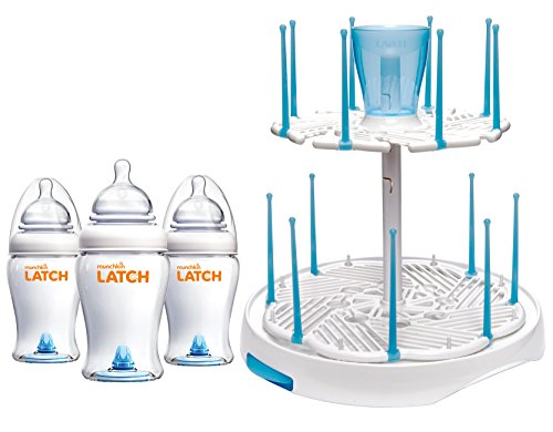 Munchkin Anti Colic Bottles Deluxe Spinning