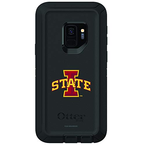 Fan Brander NCAA Phone case, Compatible with Samsung Galaxy S9 with OtterBox Defender Series(Iowa State Cyclones)
