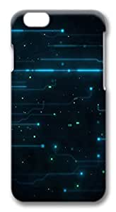 iPhone 6 Cases, Abstract Tron Legacy Circuits Protective Snap-on Hard Case Back Cover Protector Slim Rugged Shell Case For iPhone 6 (4.7 inch) by icecream design