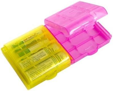 2X Caja Plástico Estuches pa AA/AAA Batería Pila Nueva: Amazon.es: Electrónica