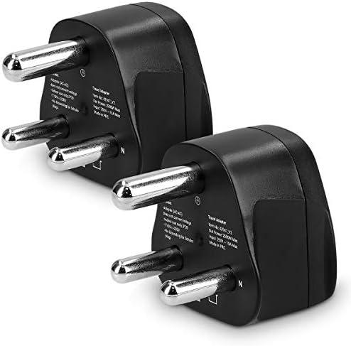 kwmobile 2 Adaptadores de Viaje Tipo M: Amazon.es: Electrónica